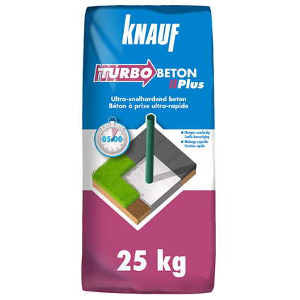 Knauf turbo beton 'plus' 25 kg