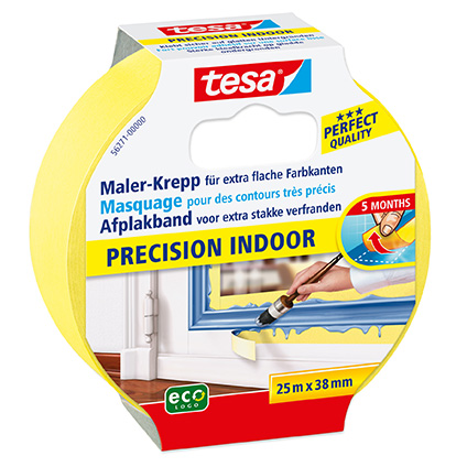 Tesa afplakband ''Precision Indoor'' 25 m x 38 mm