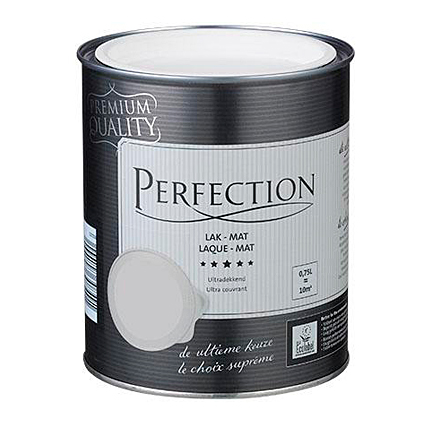 Laque Perfection blanc pur mat 2,5 L