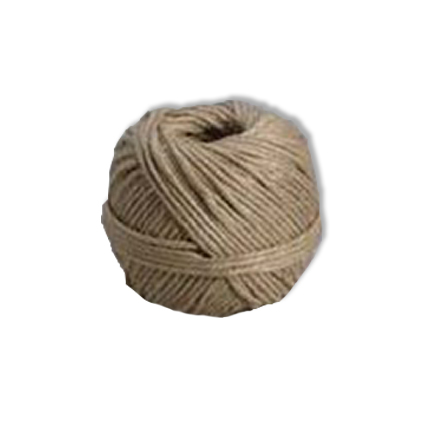 Ficelle d'emballage Sencys chanvre naturel 1 mm x 90 m