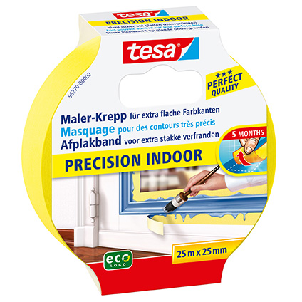 Tesa afplakband ''Precision Indoor'' 25 m x 25 mm