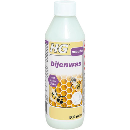 HG bijenwas transparant 500ml