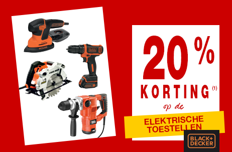 Crazy deals! Black+Decker