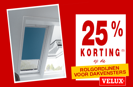 Crazy deals! Rolgordijnen